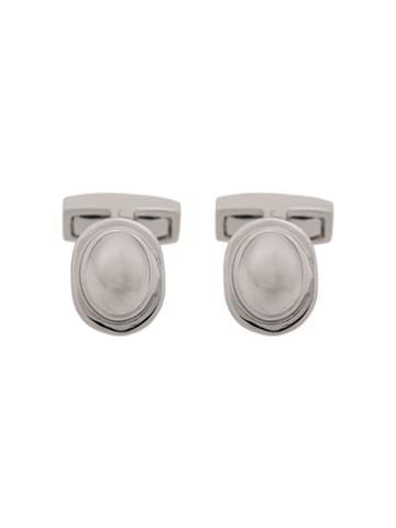 Hackett Glass Detail Cufflinks - Metallic