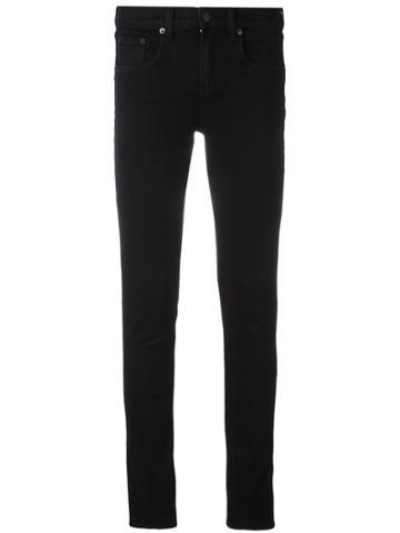 Rag & Bone /jean Classic Skinny Jeans - Black