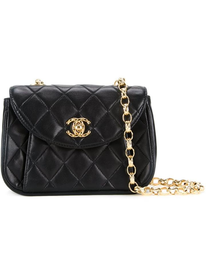 Chanel Vintage Small Quilted Shoulder Bag, Women's