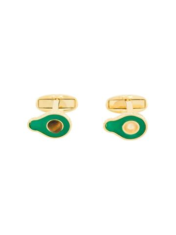 Paul Smith Avocado Polished Cufflinks - Green