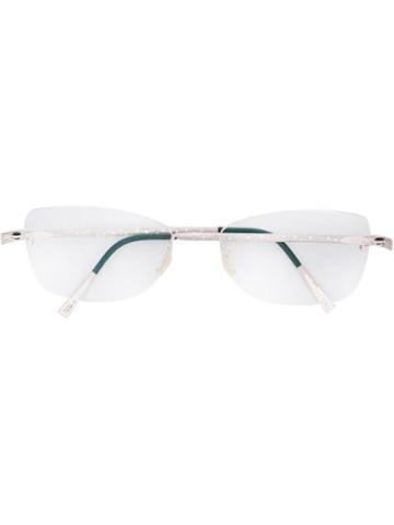 Lindberg 'unique' Glasses, White, Diamond/18kt White Gold