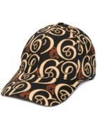 Dolce & Gabbana Logo Print Baseball Cap - Black