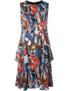 Marni Printed Sleeveless Dress