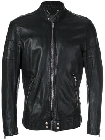 Diesel Moto Jacket - Black
