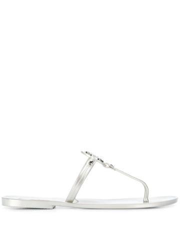 Tory Burch Mini Miller Sandals - Grey