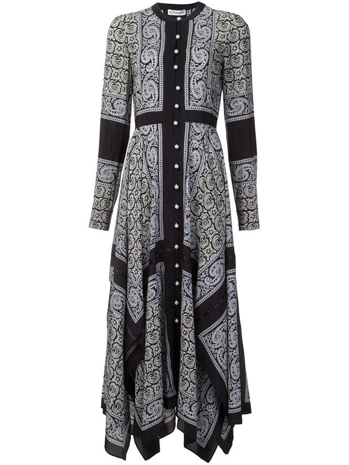 Altuzarra Paisley Print Shirt Dress
