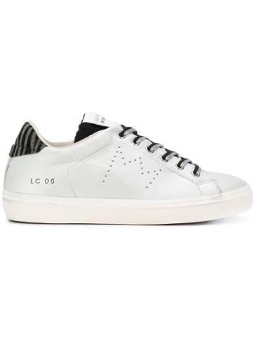 Leather Crown Wlc06 Sneakers - Metallic