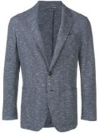 Canali Slim Fit Blazer - Blue