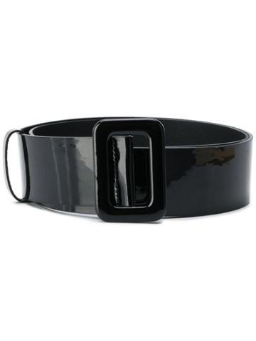 Federica Tosi Varnished Finish Belt - Black