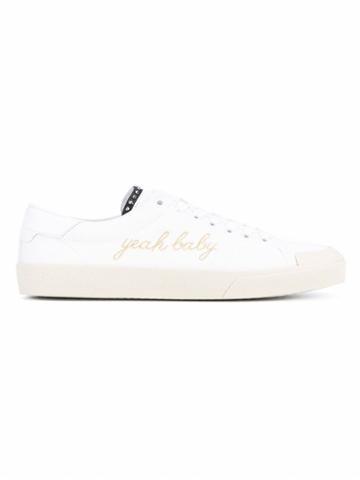 Saint Laurent 'yeah Baby' Sneakers