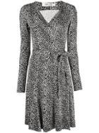 Dvf Diane Von Furstenberg Julian Jersey Wrap Dress - Black