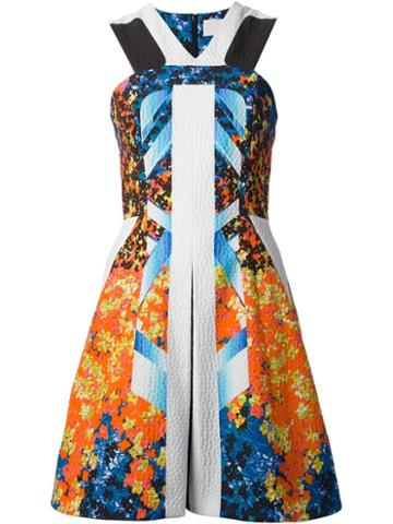 Peter Pilotto Printed A-line Dress