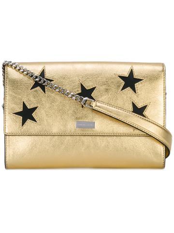 Stella Mccartney - Metallic (grey) Stars Shoulder Bag - Women - Polyester/polyurethane - One Size, Polyester/polyurethane