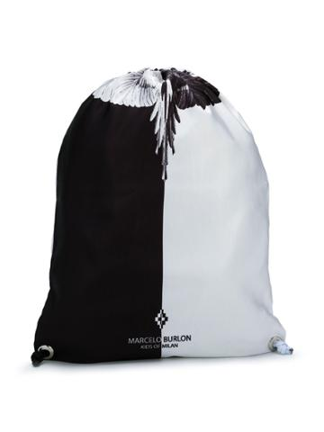 Marcelo Burlon County Of Milan Kids Wings Bag - White