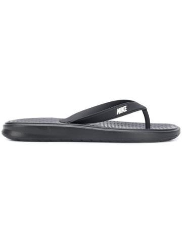 Nike Solay Flip Flops - Black