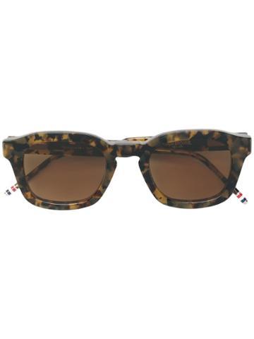 Thom Browne Eyewear Tokyo Tortoise Sunglasses
