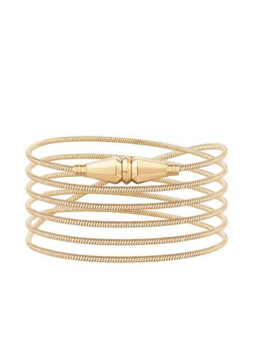Boucheron 18kt Yellow Gold Jack De Boucheron Wrap Bracelet - Yg