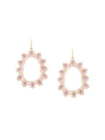 Larkspur & Hawk Caterina Small Frame Bellini Earrings - Gold