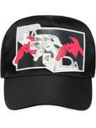 Prada Printed Baseball Cap - Black