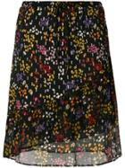 See By Chloé Floral Print Skirt - Black