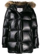 Woolrich Padded Parka Jacket - Black