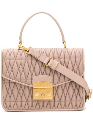 Furla Metropolis Top Handle Bag - Neutrals