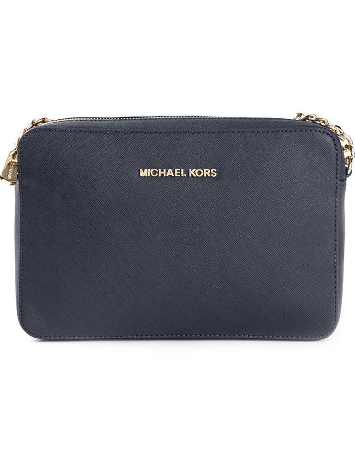 Michael Michael Kors 'jet Set' Cross Body Bag, Women's, Blue