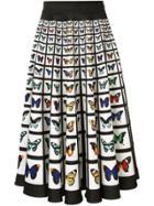 Mary Katrantzou Flip Skirt - White
