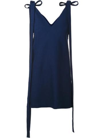 Jacquemus 'la Robe Qui Flotte' Dress, Women's, Size: 36, Blue, Cotton