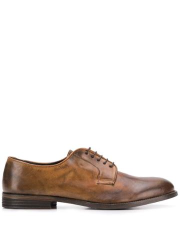 Leqarant Classic Oxford Shoes - Brown