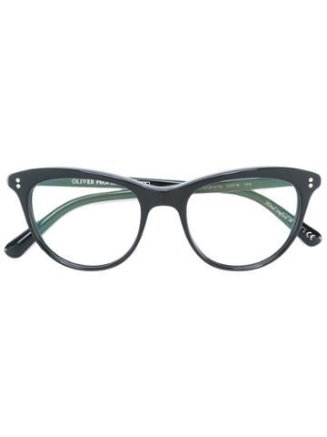Oliver Peoples Jardinette Glasses, Black, Acetate