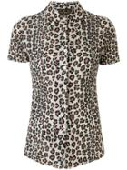 Fendi Pre-owned Leopard Print Short-sleeved Shirt - Brown
