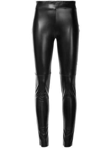 Wolford High Waisted Leggings - Black