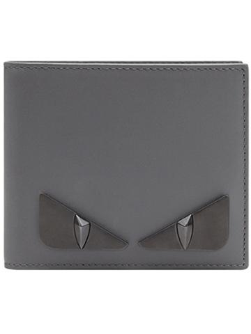 Fendi Bifold Wallet - Grey