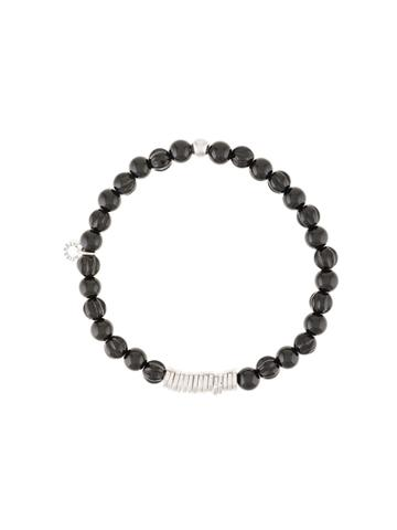 Tateossian Beaded Bracelet - Black