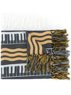 Undercover Striped Scarf - Multicolour