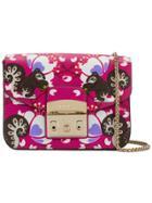 Furla Mini Metropolis Crossbody Bag - Pink & Purple