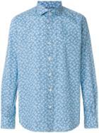 Orian Floral Print Shirt - Blue