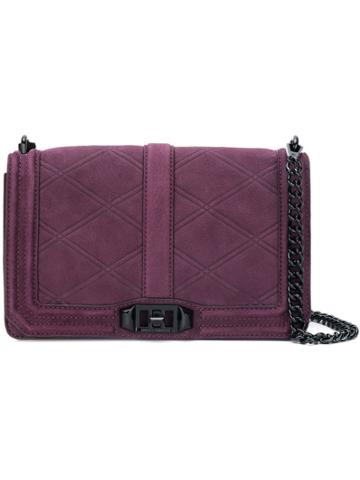 Rebecca Minkoff Love Crossbody Bag - Pink & Purple