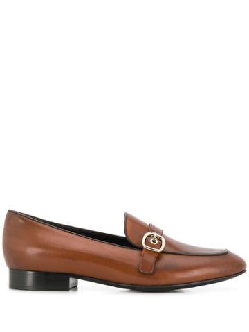 Church's Buckle Strap Loafers - Brown