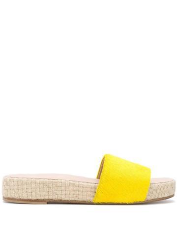Solange Platform Slides - Yellow