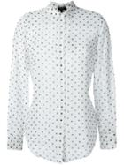 Theory Polka Dot Print Shirt