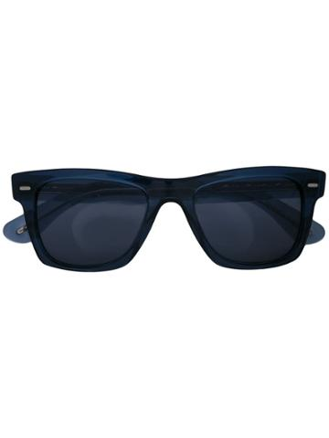 Oliver Peoples Square Sunglasses - Blue