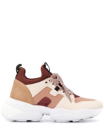Hogan Colour-block Sneakers - Neutrals