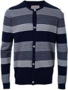 Factotum Striped Cardigan