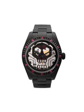Mad Paris Rolex Milgauss Skull 48mm - Black Dlc