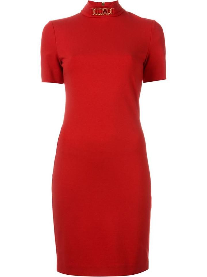Love Moschino Shortsleeve Fitted Dress