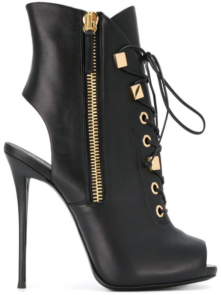 Giuseppe Zanotti Design Melanie Booties - Black