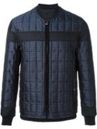 Lanvin Checked Padded Jacket