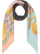 Burberry Printed Scarf - Multicolour
